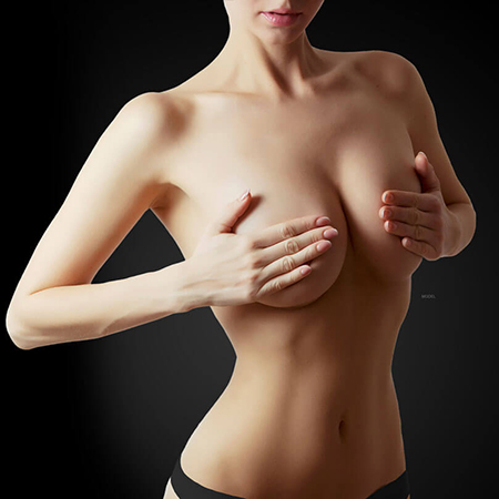 breast lift model