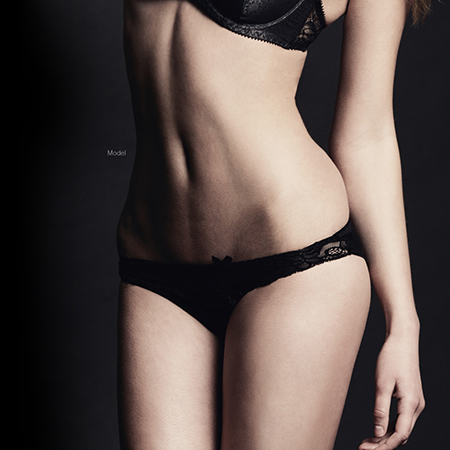 tummy tuck model